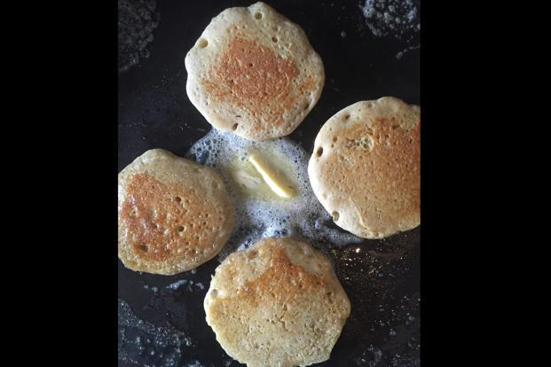 Butter up: The surface of pikelets is covered with little holes.