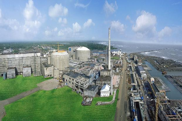A file photo of NPCIL's Tarapur plant in Maharashtra. India's plans to ramp up its nuclear generation capacity 10-fold by 2032 have been hampered by suppliers' concerns over the nuclear liability law.