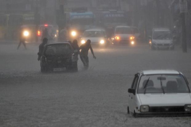 La Nina which refers to large-scale cooling of the ocean surface temperatures in the central and eastern equatorial Pacific, is associated with excess rainfall in India. Photo: AP