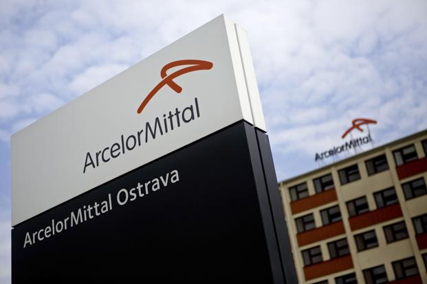 ArcelorMittal maintained its estimate for full-year Ebitda to exceed $4.5 billion. Ebitda in the first half was $2.7 billion. Photo: Bloomberg