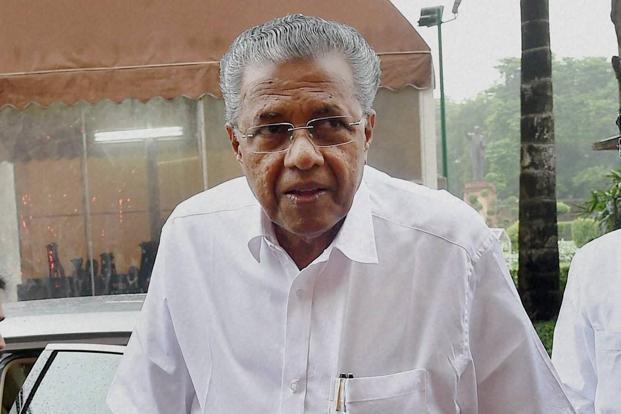 Kerala chief minister Pinarayi Vijayan. Kerala and Tamil Nadu are developing competing port projects 30km apart. Photo: PTI
