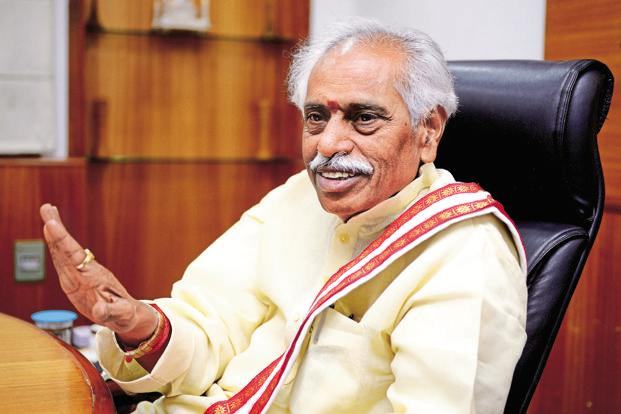 Labour minister Bandaru Dattatreya. The ministry plans to conduct one job fair every month and has approached industry partners. Photo: Priyanka Parashar/Mint