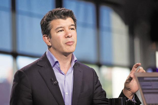 Travis Kalanick, chief executive officer of Uber Technology Inc. Photo: Bloomberg