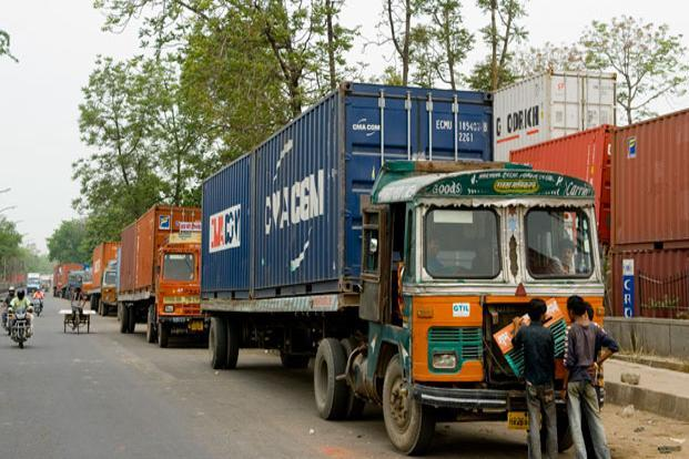 The draft,  thankfully, does away with additional tax on the movement of goods across state boundaries. Photo: Ramesh Pathania/Mint