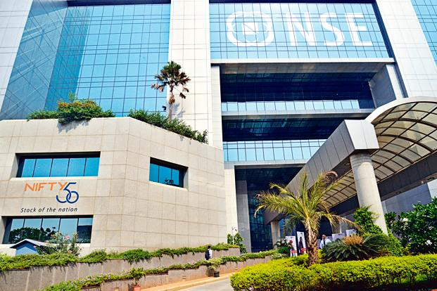A file photo of the National Stock Exchange. Retail investors, whose investments cannot cross <span class='WebRupee'>Rs.</span>2 lakh in an IPO, submitted bids for 67.40 million shares for the 10.61 million shares on offer. Photo: Aniruddha Chowdhury/Mint