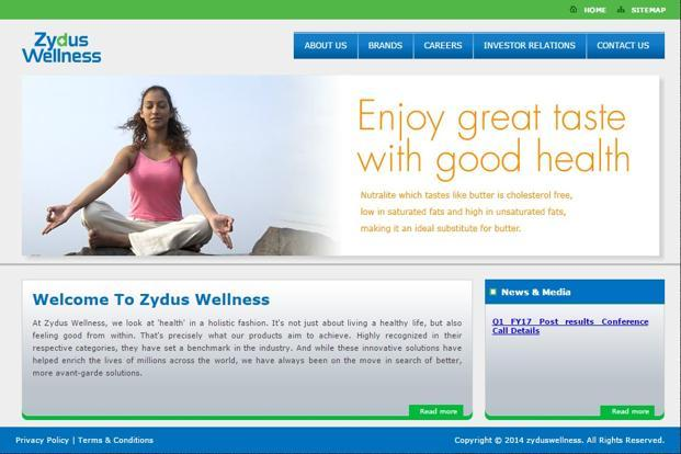 Performance of Zydus Wellness was driven by its brands such as Sugar Free, EverYuth and Nutralite.