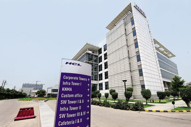 On constant currency basis, HCL Tech's revenues were up 11.2% year-on-year. The company earlier followed the July-June fiscal but has now moved to the April-March cycle as mandated by the Companies Act. Photo: Ramesh Pathania/Mint