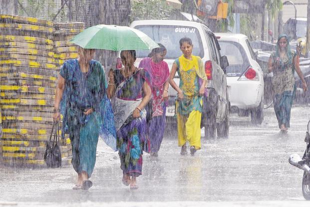 An average or normal monsoon means rainfall between 96 and 104% of a 50-year average of 89 centimetres. Photo: Hindustan Times