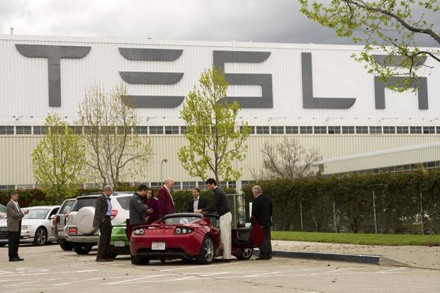 Tesla reported its first-ever quarterly profit in 2013. Photo: Bloomberg