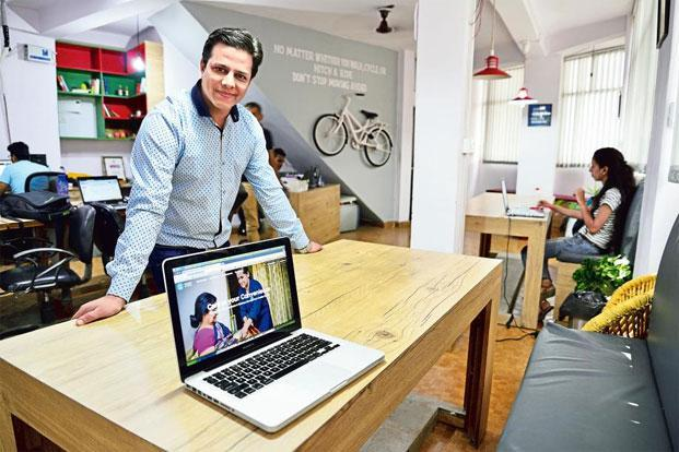 Kshitij Garg founded his wellness service company Healers At Home in July 2014. Photo: Priyanka Prashar/Mint