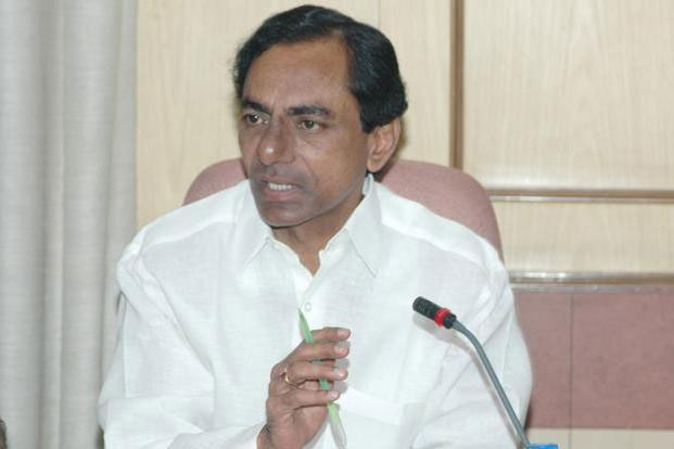 A file photo of Telangana chief minister K. Chandrashekar Rao.