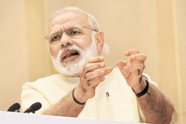 Narendra Modi has called India 'the most open economy in the world' when it comes to inward investment. Photo: HT