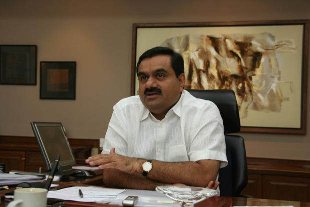 A file photo of Adani Group chairman Gautam Adani. The total expenses of the company during the quarter stood at Rs8,468.68 crore, over Rs8,393.11 crore in the year-ago period. Photo: Mint