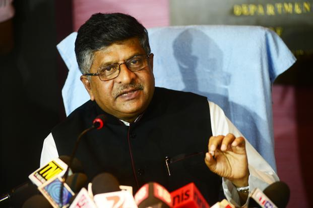 Union minister for law and justice Ravi Shankar Prasad assured the Rajya Sabha on Tuesday that vacancies will be addressed immediately. Photo: Ramesh Pathania/Mint