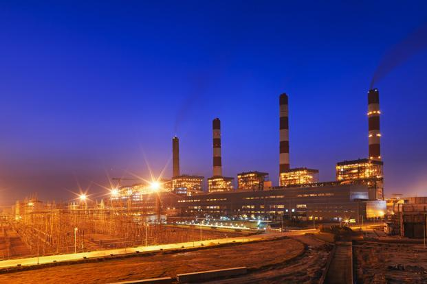 A plant of Adani Power.