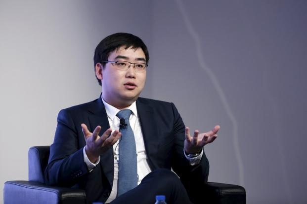 Founder and CEO of Didi Chuxing, Cheng Wei speaks during a session at the World Economic Forum (WEF) in China's port city Dalian. Photo: Reuters
