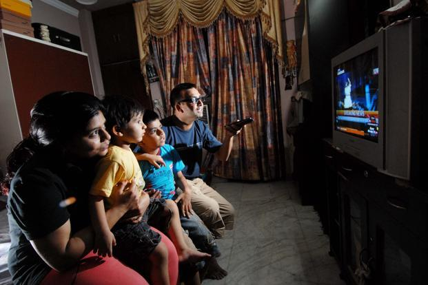 The poor growth in television advertising also had a domino effect on the growth of the total advertising market in India. Photo: Priyanka Parashar/ Mint