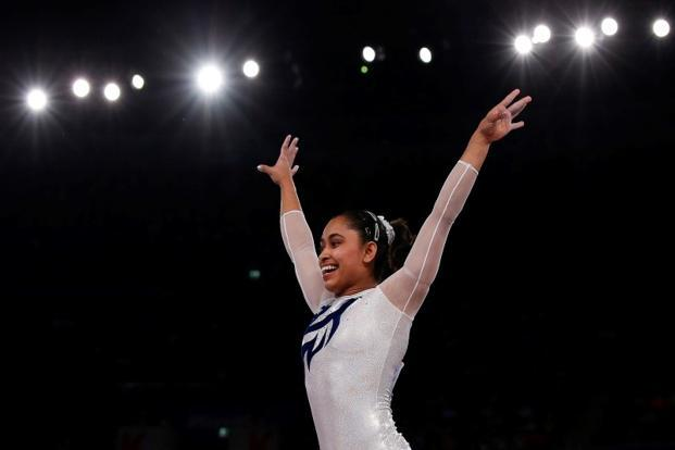 Dipa Karmakar will have to compete with the likes of the all-round apparatus champion Simon Biles of the US. Photo: Reuters