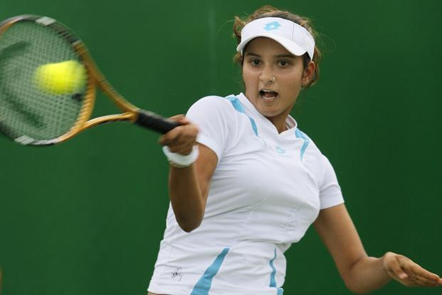Sania Mirza and Rohan Bopanna had lost in the semi-finals on Saturday to Venus Williams and Rajeev Ram of the US.   Photo: AFP