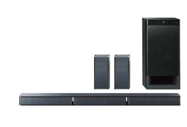 Sony HT-RT3 has the five-speaker audio channel configuration