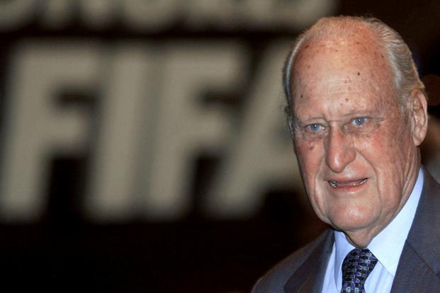 Joao Havelange helped to transform FIFA and its flagship event, the World Cup, into a multibillion-dollar enterprise. Photo: Reuters