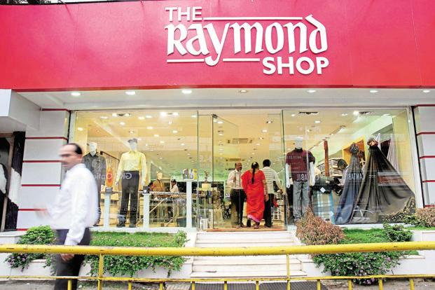 Nearly 45% of Raymond's Rs5,595 crore revenue comes from fabric, where online retail is not as relevant. Photo: Hemant Mishra/Mint