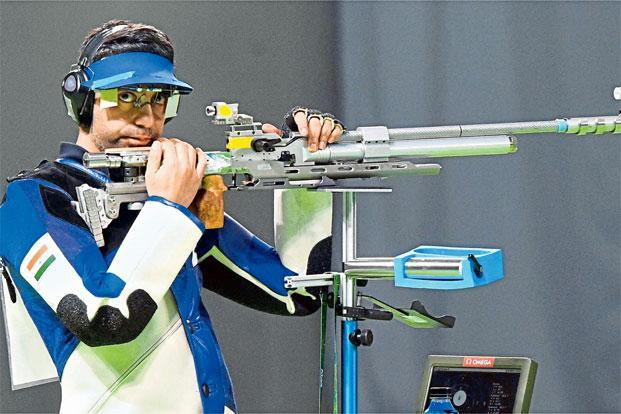 Bindra finished fourth in the 10m Air Rifle in Rio. Photo: Atul yadav/PTI