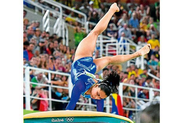 Dipa Karmakar. Photo: Atul Yadav/PTI