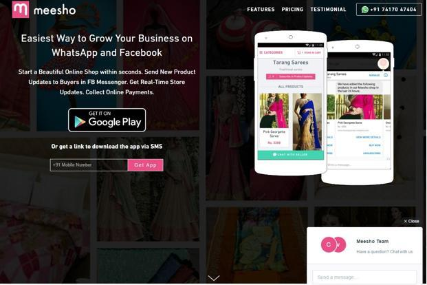 Meesho creates online pages for these merchants which can be managed from its mobile app. Merchants can update products, edit the store, manage orders on these pages.