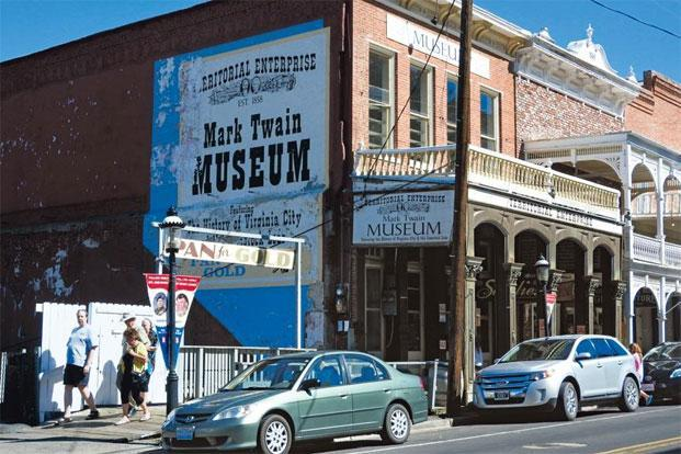The office of the Territorial Enterprise now houses the Mark Twain Museum. Photographs: Charukesi Ramadurai