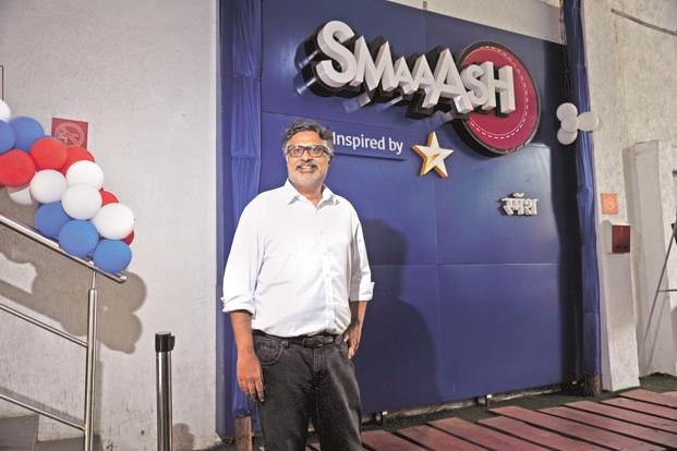 Smaaash Entertainment founder Shripal Morakhia. The sports-based entertainment company is planning to set up centres in the US and the Middle East. Photo: OnlyPix