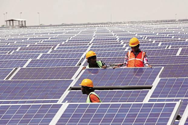 Modi also directed all infrastructure sector ministries to focus on solar-based energy solutions. Photo: Hindustan Times