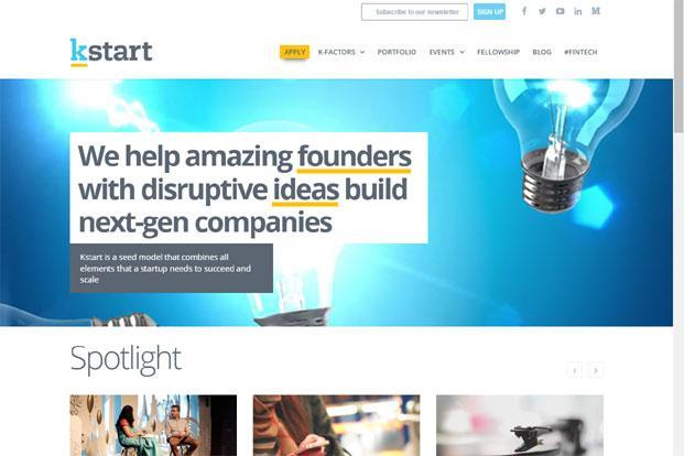 Kstart, launched in February this year, began with a corpus of $20 million to invest $100,000-500,000 in start-ups via convertible equity instruments in next two years.