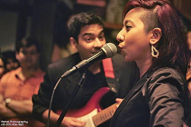 Musical night: Sentirenla Lucia from Nagaland will perform jazz and pop.