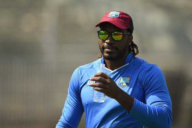 A file photo of Chris Gayle. He was one of the celebrities to be featured in the official video of Dwayne Bravo's Champions song.  Photo: AFP