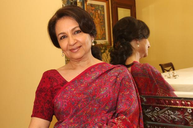 A file photo of actor Sharmila Tagore. Photo: HT