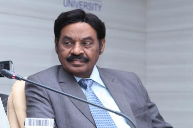 A file photo of SRM group chief T. R. Pachamuthu.