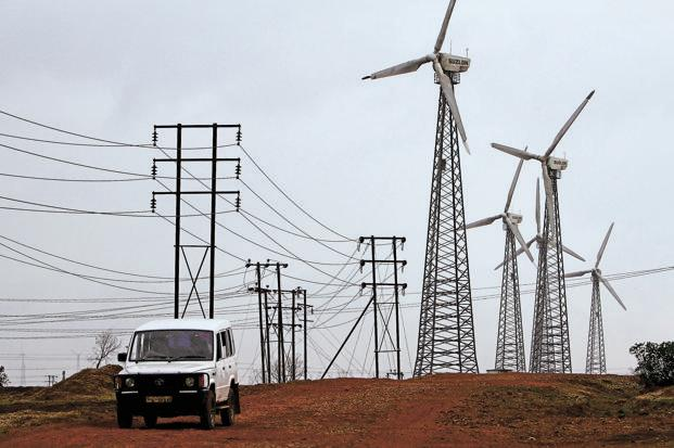 The literal roadblock in India is affecting companies such as Suzlon Energy Ltd, one of India's biggest turbine makers. Photo: Bloomberg