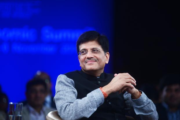 Mines minister Piyush Goyal. Photo: Ramesh Pathania/Mint