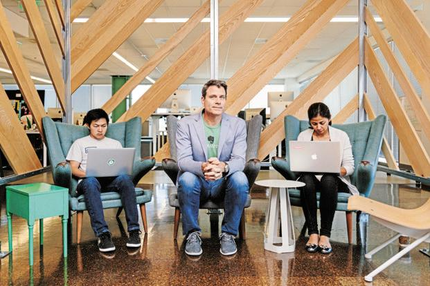 Chris O'Neill, Chief executive of Evernote, which has cut back on staff. Photo: Jason Henry/The New York Times