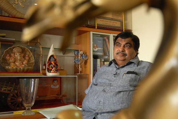 Shipping minister Nitin Gadkari says that the government will introduce the Major Port Authorities Act in Parliament's winter session to govern the 11 ports. Photo: Hemant Mishra/Mint