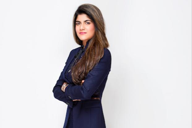 A file photo of Ananya Birla, daughter of Kumar Mangalam Birla.