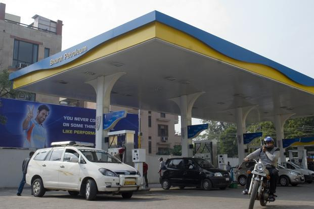 Ahead of earnings, BPCL scrip closed at <span class='WebRupee'>Rs.</span>600, down 1.21% on the BSE while the benchmark Sensex closed at 28452.17, up 0.39%.  Photo: Mint