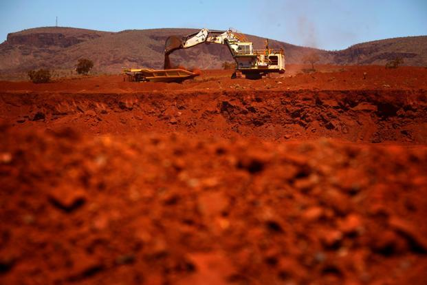 Ore delivered to Qingdao suffered its sharpest one-day fall in two months last Friday, and dropped in August for the first time since May. Photo: Reuters