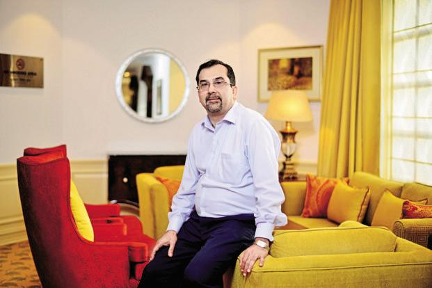 ITC COO Sanjiv Puri. The firm expects to ramp up revenue from branded packaged foods and personal care products to Rs1 trillion by 2030. Photo: Pradeep Gaur/Mint