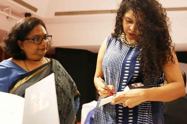 'Gujarat Files: Anatomy Of A Cover Up' by Rana Ayyub (right) has been criticized for shoddy editing and lacking in context, but nobody has panned its content. Photo: Mayank Austen Soofi/Mint