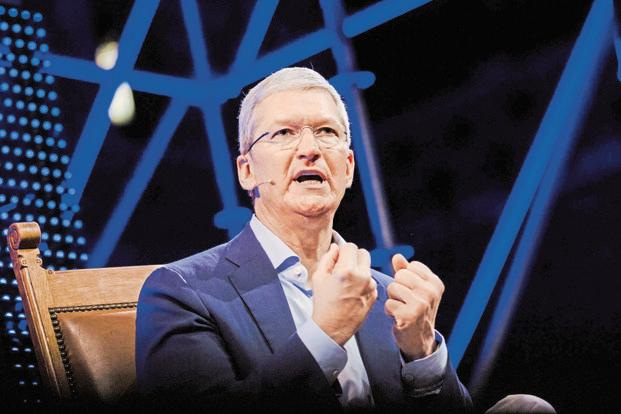 Apple chief executive officer Tim Cook. Photo: Bloomberg