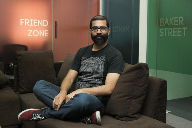 Arunabh Kumar, founder and creative experiment officer of TVF.