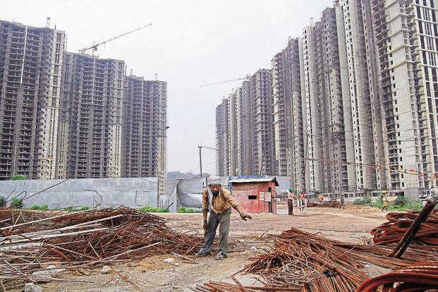 The average delivery of projects as a percentage of under-construction stock across the top nine cities rose from just 2% in 2013-14 to 9% in the first four months of 2016-17, according to PropTiger. Photo: Mint