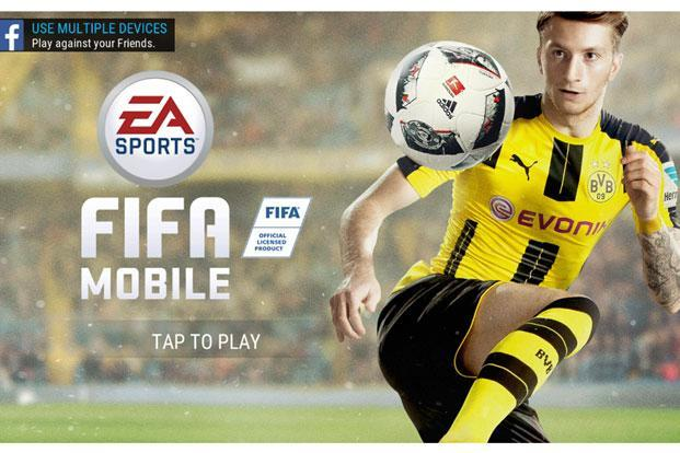 The 'FIFA Mobile Soccer' is free to download and involves in-app purchases, which allow users to build a strong team by buying top ranked players from the beginning itself instead